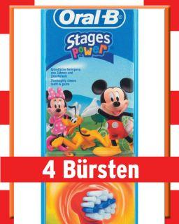 Oral B Stages Power 10 2 k Kinder Bürsten Disney
