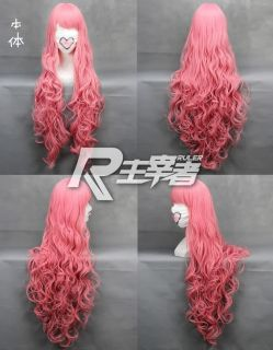 VOCALOID Luka Ruka Megpoid MEGURINE Cosplay Costume Ponytail Wig T56