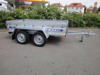 PKW Anhänger Tandem 750 KG 265x125x39cm