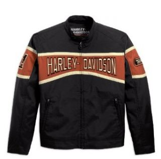 Harley Davidson Motor Nylon Jacke 98243 10VM Herren Outerwear