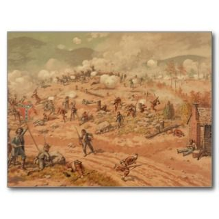 The American Civil War Battle of Allatoona Pass Post Cards