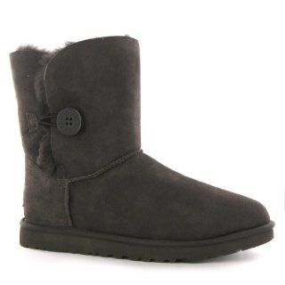 UGG Boots Toddlers Bailey Button in Schwarz Baby