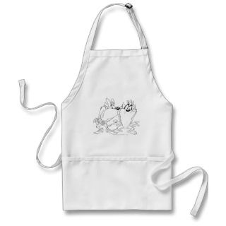 Taz and She Devil Aprons