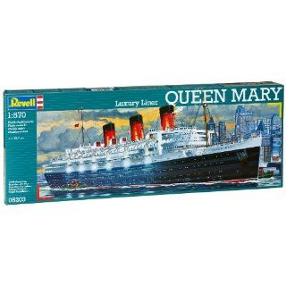 Revell Modellbausatz 05203   Queen Mary im Maßstab 1570