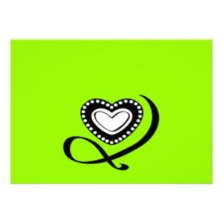 Tattoo Heart Swirls love graphics logo icons Personalized Announcement