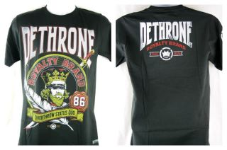 Dethrone Royalty Blind Folded Authentic Black T shirt New