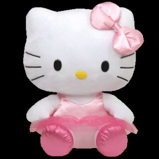 TY Buddy Ballerina Hello Kitty Large 25 cm pink Tutu