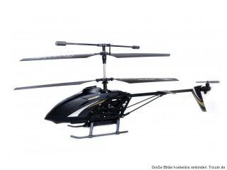 RC Helicopter Hawkspy Plus 3,5 Kanal MK GYRO + VIDEO Camcorder Schwarz