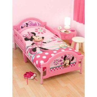 Kinder Mädchen Minni Maus Kinderbett Bettdecken und Kopfkissen Bezug