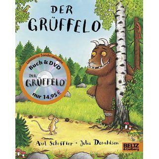 Der Grüffelo. Buch und DVD. Vierfarbiges Pappbilderbuch mit DVD