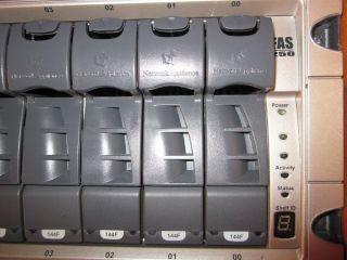 NetApp / Network Appliance FAS250 Controller inkl. 14x 144GB FC Disks