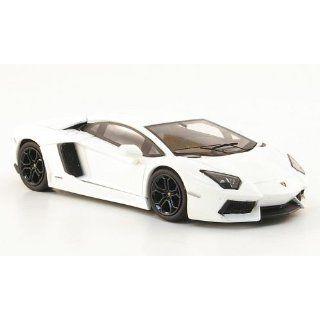Lamborghini Aventador, weiss, 2011, Modellauto, Fertigmodell, Mattel 1