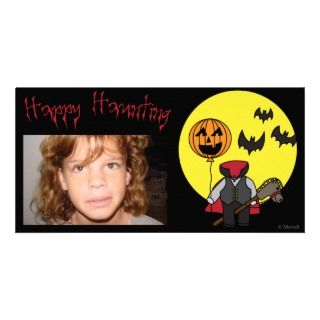 Headless Horseman Photo Card
