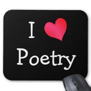 Love Poetry Mouse Pads