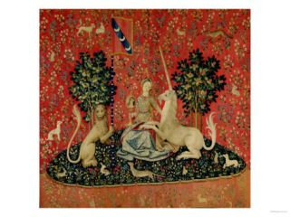 The Lady and the Unicorn Sight Giclee Print