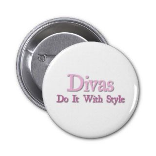 Divas Do It With Style Button