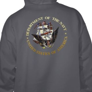 US Navy SEALs Badge Hooded Pullover