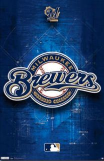 Milwaukee Brewers Logo 2011 Prints