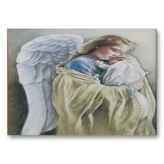 Guardian Angel Prayer 4 Business Card
