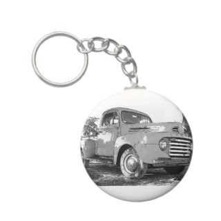 Vintage Ford Truck Key Chain
