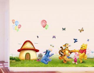 winnie the pooh fun n games playtime video vhs pal uk walt. Black Bedroom Furniture Sets. Home Design Ideas