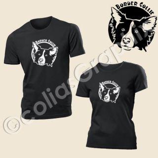 Border Collie Männer o. Frauen T Shirt  Hunde Art302