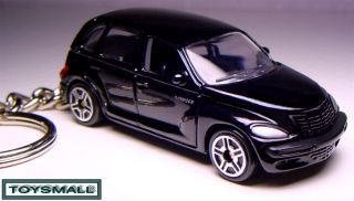 KEY CHAIN BLACK CHRYSLER PT CRUISER LLAVERO БРЕЛОК PORTE CLE