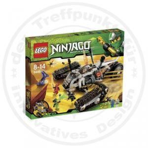 Lego Ninjago 9449 Ultraschall Raider Figuren Pythor Spitta Kai Cole