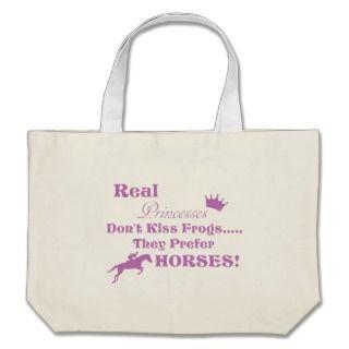 Real Princess Horse.gif Tote Bags