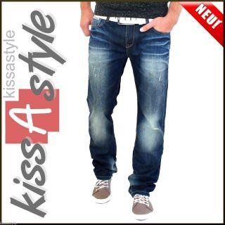 Redbridge RBC by CIPO & BAXX Jeans Herren Hose OLD VINTAGE LOOK RB302