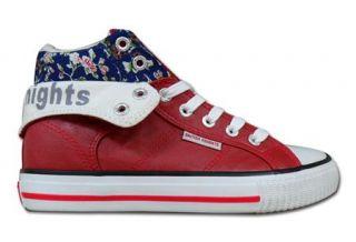 BK British Knights Schuhe Sneaker Roco Red Rot Flower Modell 2012 Neu