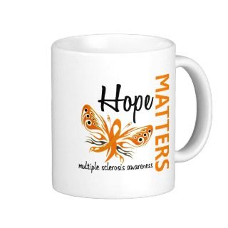 Hope Matters Butterfly Multiple Sclerosis Mugs