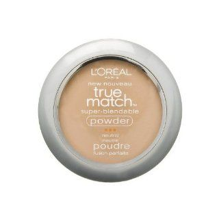Oreal Paris True Match Super Blendable Powder, Natural Buff (2 Pack