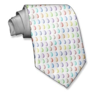 Easter Multicolored Eggs Tie