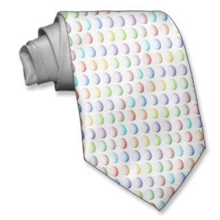 Easter Multicolored Eggs Tie