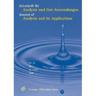 Zeitschrift für Analysis und ihre Anwendungen / Journal for Analysis