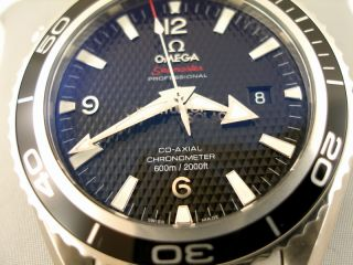 OMEGA 007 JAMES BOND QUANTUM OF SOLACE PLANET OCEAN TAUCHER LIMITED