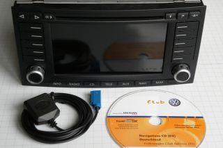 VW SAT NAV MFD2 MFD 2 RNS2 RADIO NAVIGATION SYSTEM Navi GPS DX Touareg