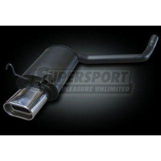 Supersport Endschalldämpfer MERCEDES E Klasse I 200 230E inkl. Diesel