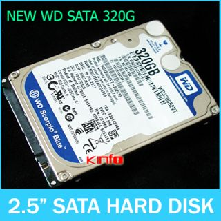 Digital ( WD3200BEVT ) 2.5 320G 320 GB Laptop HDD Hard Drive