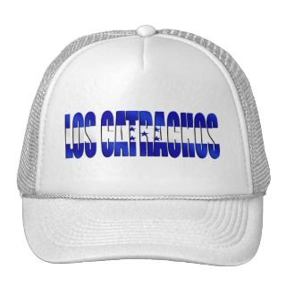 Los Catrachos logo flag of Honduras futbol gifts Mesh Hats