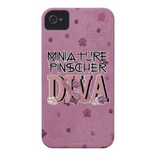 Miniature Pinscher DIVA Case Mate iPhone 4 Case