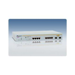 Allied Telesis AT GS950/8POE 50 8 Port Switch 10/100