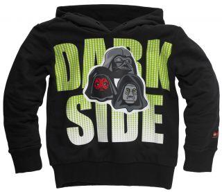 Hoodie Star Wars schwarz Dark Side SIMON 321 Gr. 104   152 NEU