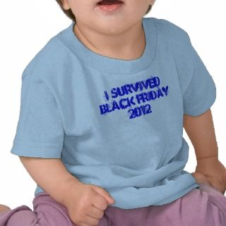 Black Friday 2012 Official Slogan Tee