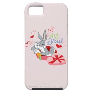 Bugs Bunny I Dig You iPhone 5 Case
