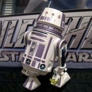 STAR WARS astromech droid R5 C7 build a droid BAD rare