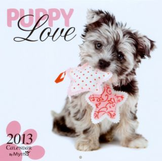Puppy Love by Myrna   2013 Wall Calendar Calendars
