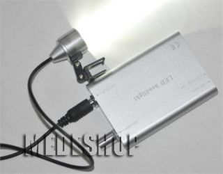 Dentist Portable Surgical Dental LED Head Lamp Light for Dental Loupes