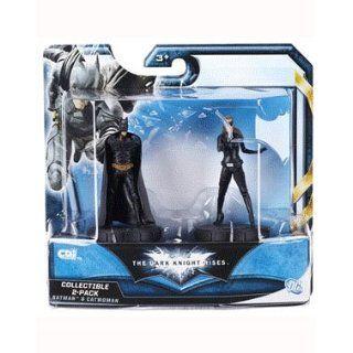 Batman 2er Figuren Set Batman und Catwomen   The Dark Knight Rises